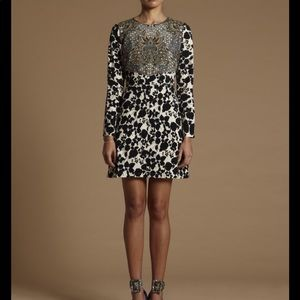 Ong Shunmugam patterned dress Fifth collection